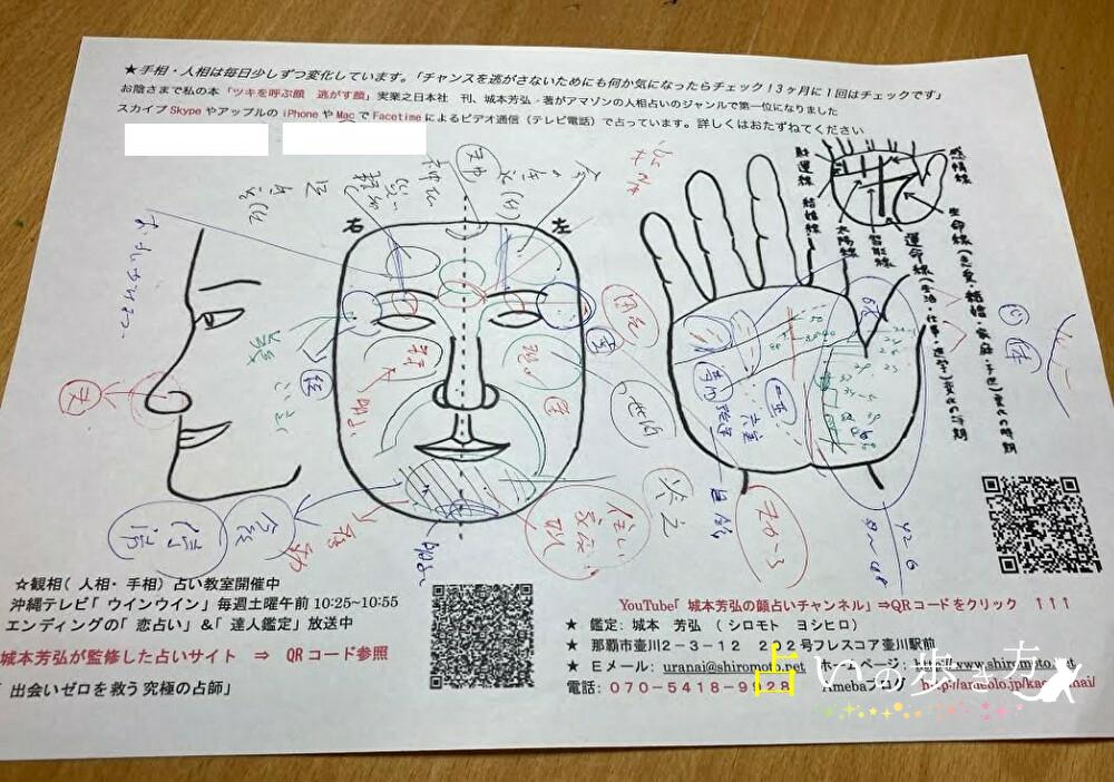 城本芳弘先生の鑑定書